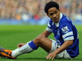 Stephen Pienaar spent two spells at Everton during his career, leaving for good in 2016. AFP