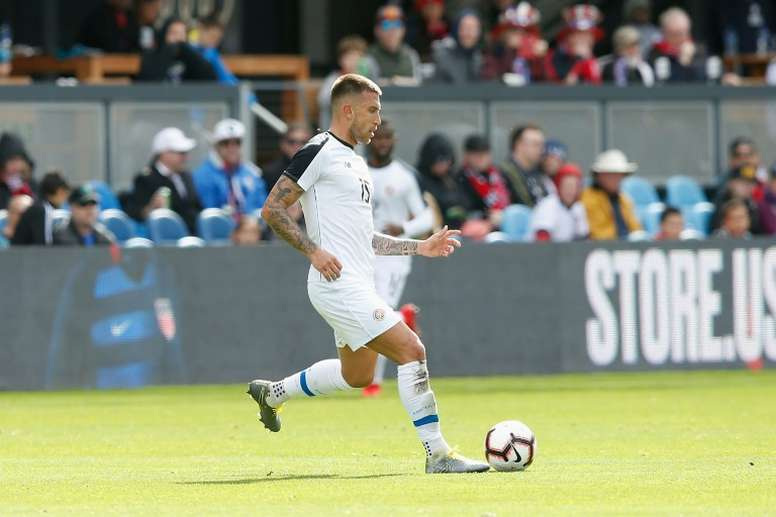 Costa Rican defender Francisco Calvo was traded on Friday by Minnesota to Chicago Fire. AFP