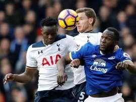 Wanyama entra em promoção no Tottenham. AFP