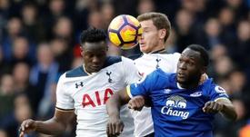 Las rebajas del Tottenham con Wanyama. AFP