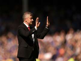 Solskjaer apologised to the fans after a humiliating defeat. AFP