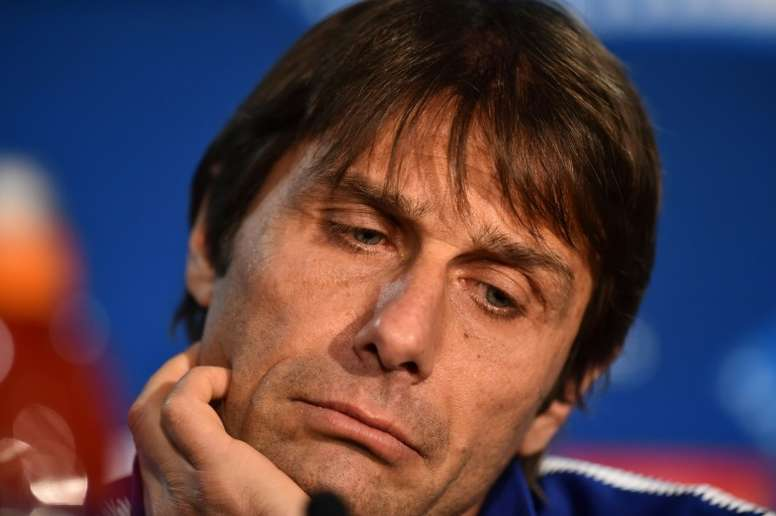 Conte calm over Chelsea future. AFP