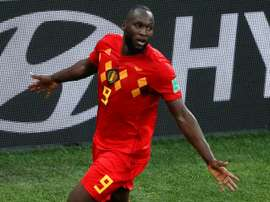 Lukaku tops Belgium's scoring charts. AFP