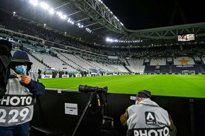 Juventus v Napoli will now be rearranged. AFP