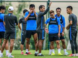 Coronavirus condemns Chinese football to endless pre-season. AFP