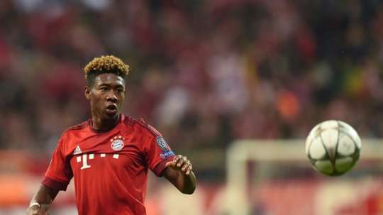 Alaba is attracting interest from Real Madrid. AFP