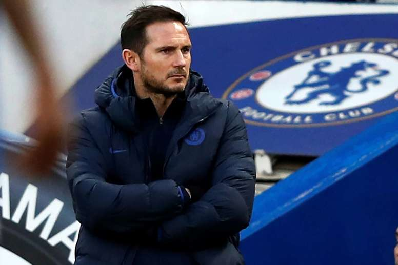 Lampard is clear how he wants to restructure Chelsea. AFP/Archivo