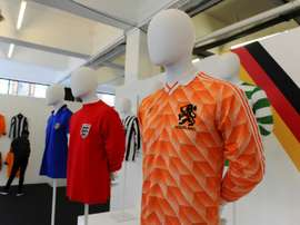 Football shirts are not just symbols of team allegiance but also fashion. AFP
