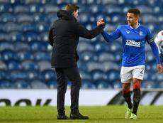 Rangers won 4-0. AFP