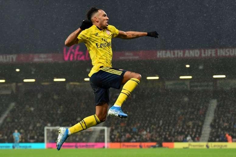 El Arsenal ya ha hecho una oferta de renovación a Aubameyang. AFP