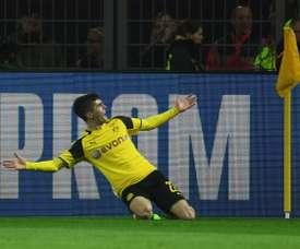 Pulisic anotó el gol del empate a dos. AGP/Archivo
