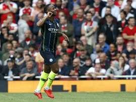 Sterling has scored three times so far this season. AFP