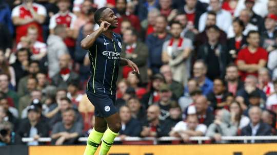 Could Raheem Sterling be on his way out of Manchester City? AFP