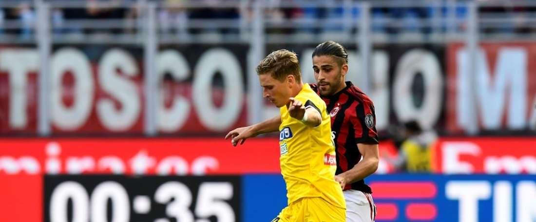 Larsen returns injured from Denmark World Cup duty. AFP