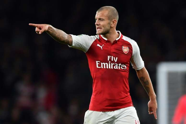 Jack Wilshere could leave Arsenal in January. AFP