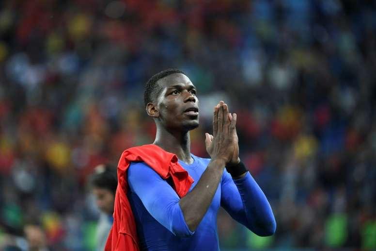 Pogba dedicates France win to Thai cave survivors. AFP