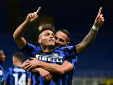 Late Lukaku, D'Ambrosio goals lift Inter in seven-goal Fiorentina show. AFP
