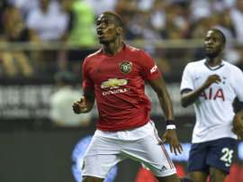 Pogba wanted to take it, but missed the penalty. AFP