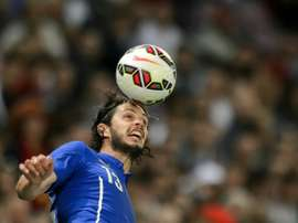 Andrea Ranocchia ha despertado el interés de Burnley y Watford. AFP