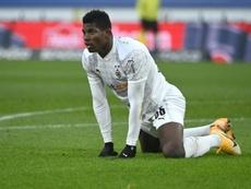 Gladbach striker Embolo set to face Dortmund. AFP