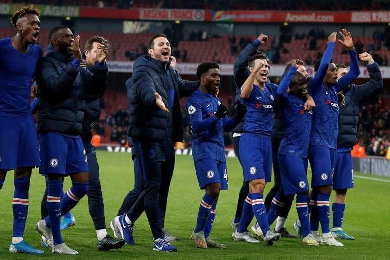 Otto giocatori possono lasciare il Chelsea. AFP