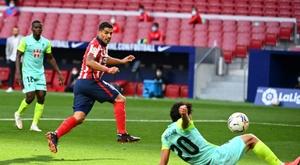 Luis Suarez had an impressive 20-minute debut as Atlético beat Granada 6-1. afp_en
