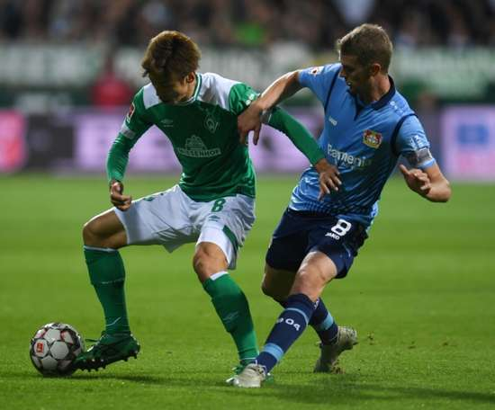Bremen have made a strong start to the season. AFP