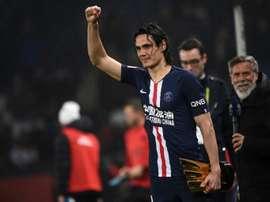 Cavani to leave PSG before Champions League last eight. AFP