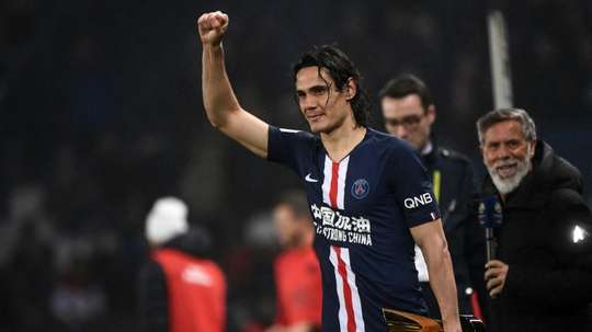 Cavani is looking for another team. AFP