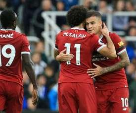 Liverpool cherche dans la Ligue belge l'attaquant idéal. AFP