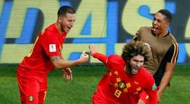 Grupo B: Bélgica, favorita contra Rusia, Dinamarca y Finlandia. AFP