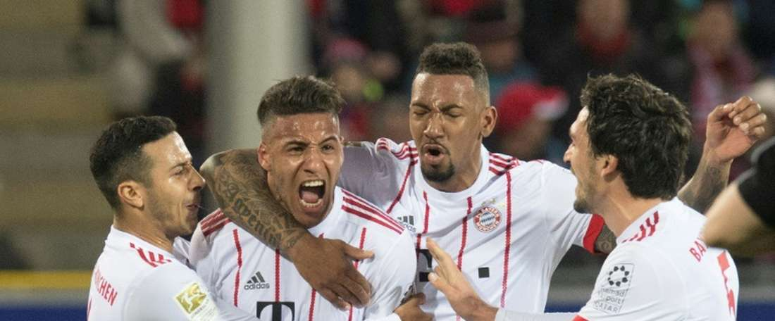 Tolisso scored a stunner as Bayern moved 20 points clear. AFP