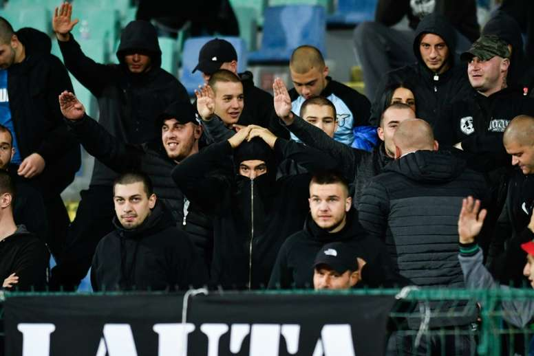 UEFA to hear racism charges against Bulgaria fans October 28. AFP