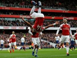 Arsenal reçoit Huddersfield. AFP