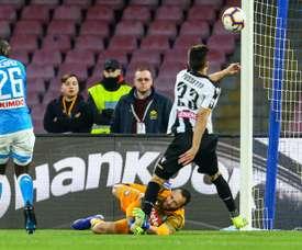 Le futur d'Ospina dépend de Naples. AFP