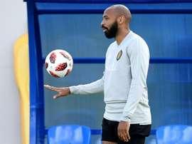 Henry no dudó cuando recibió la llamada del Mónaco. AFP
