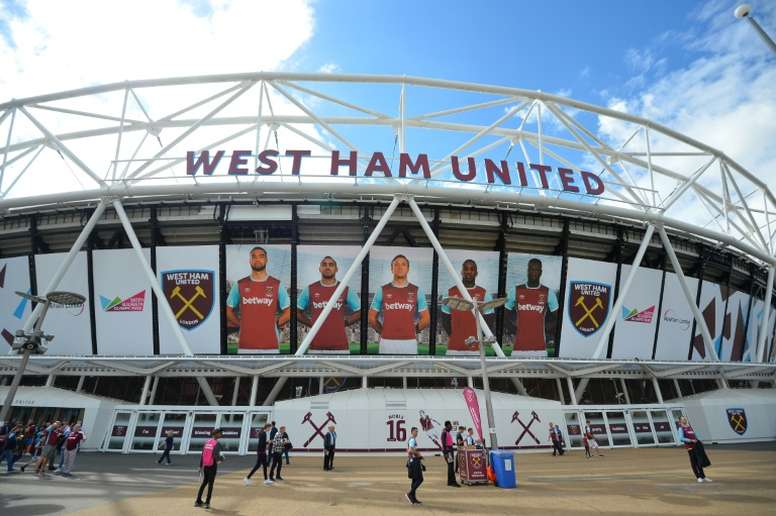 West Ham moved to the London Stadium in 2016. AFP