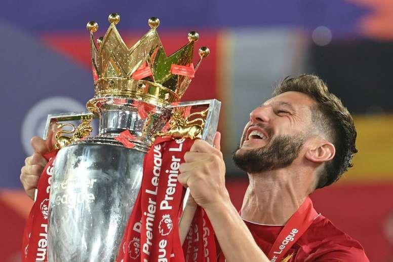 Brighton sign former Liverpool midfielder Lallana. AFP