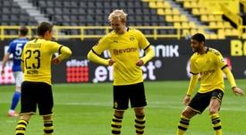 La 27esima giornata di Bundesliga. AFP