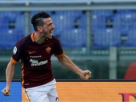 Florenzi made his Roma return on Saturday in a 3-0 win over Verona. AFP
