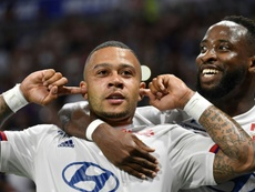 Lyon hammer Angers with Depay, Dembele double. AFP