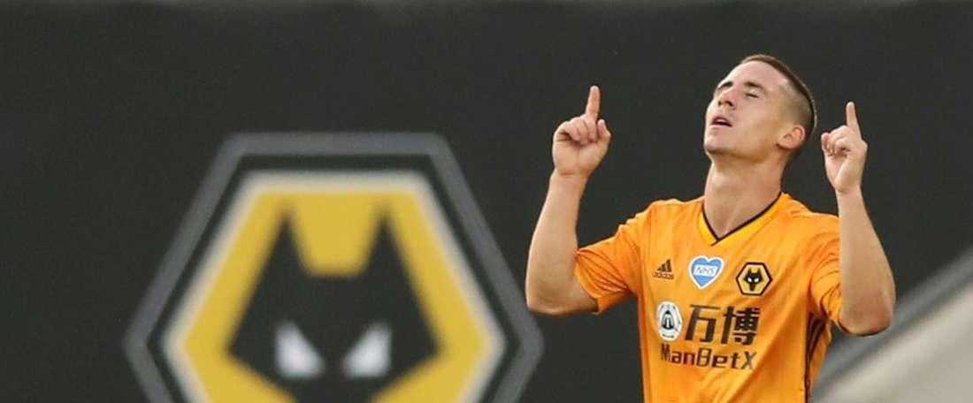 Wolves won 2-0. AFP