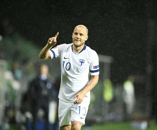 Pukki scored his 26th goal of the season for Norwich. AFP