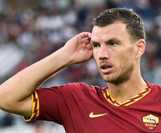 Dzeko will move to Juve. AFP
