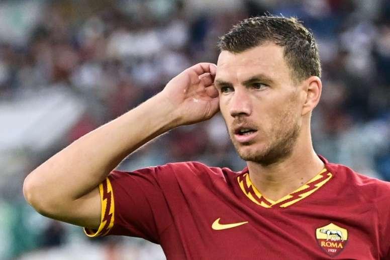 Dzeko vers la Juventus ? AFP