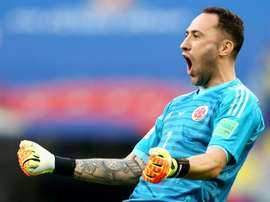 Ospina has dropped down the pecking order at Arsenal. AFP