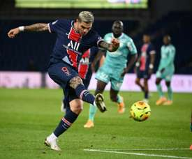 PSG's Icardi out of Champions League match against Manchester Utd. AFP