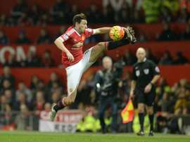 Napoli are interested in taking Darmian off United's hands. AFP