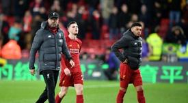 Van Dijk laments 'unacceptable' end of Liverpool run at Watford. AFP