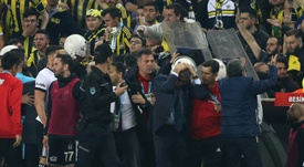 El Besiktas no se presentará al partido. AFP